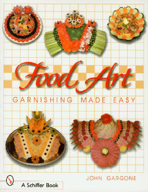 Food Art garnishing Book